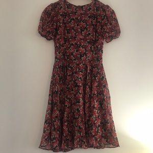 Floral Zara Trafaluc Dress